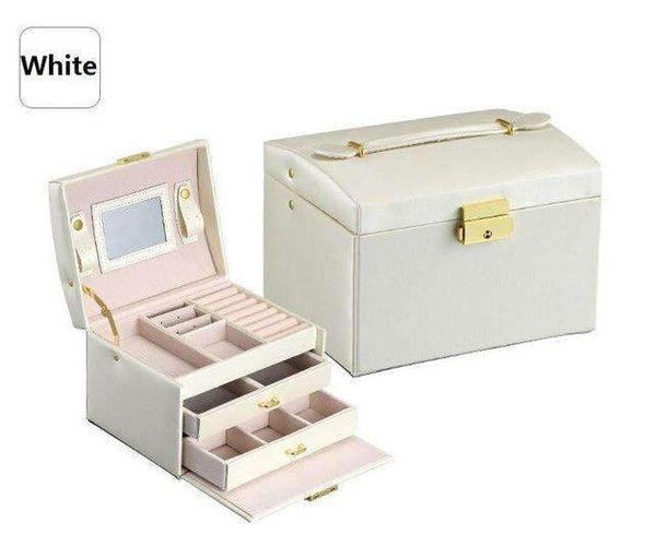 PinKart-USA Online Shopping White / Russian Federation Jewelry Packaging Box Casket Box For Jewelry Exquisite Makeup Case Jewelry Organizer Container Boxe