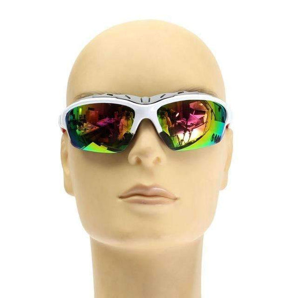 PinKart-USA Online Shopping white Unisex Sport Sun Glasses Cycling Bicycle Bike Outdoor Eyewear Goggle Gifts