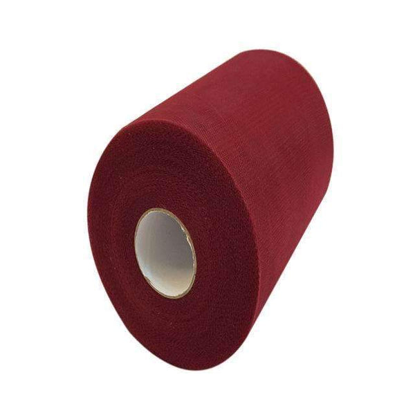 PinKart-USA Online Shopping WINE RED 60 Color Pick Wedding Tulle Roll Spool Fabric 6Inch*100Yards Baby Grils Skirt Tutu Tulle Roll Gift