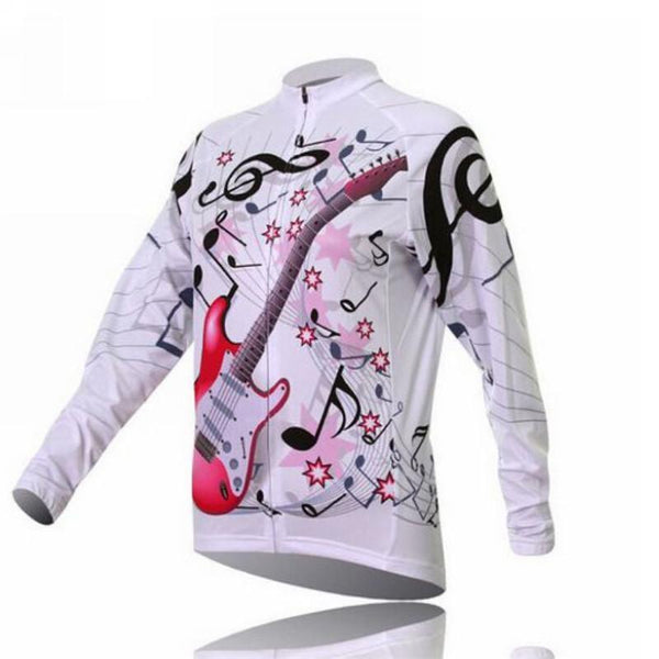 PINkart-USA Online Shopping Women'S Long Sleeve Cycling Jersey Winter Sport Bicycle Cycling Clothing Mountain Bike Jersey