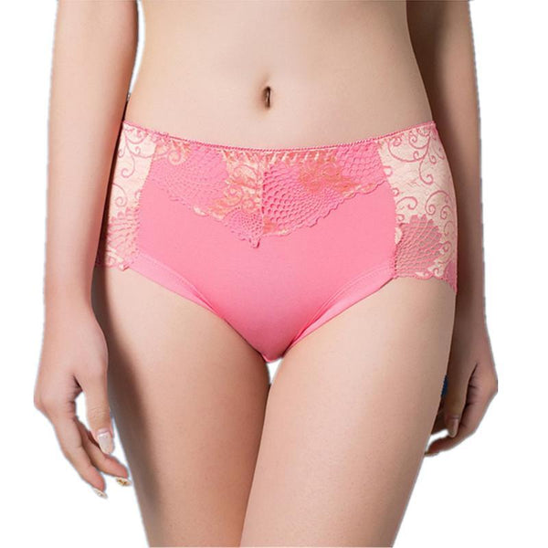 PINkart-USA Online Shopping Women Underwear Briefs Best Quality Women'S Panties Full Transparent Lace Seamless String Plus Size