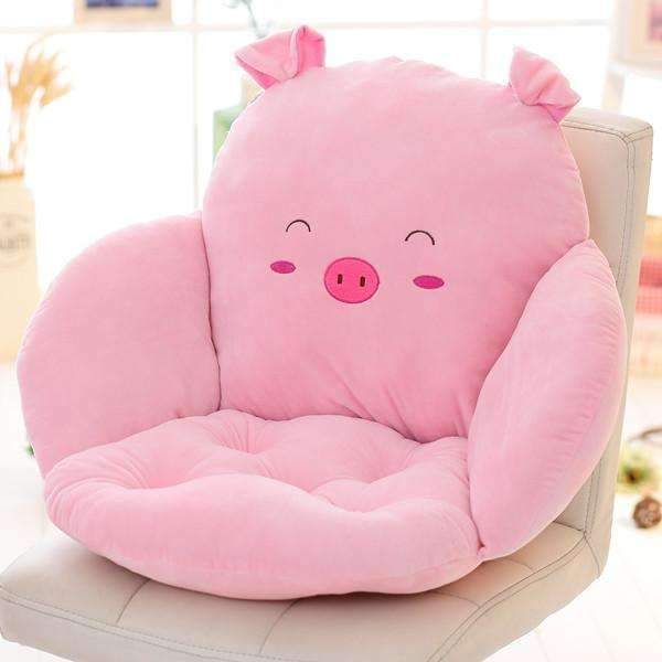 PinKart-USA Online Shopping xiaozhu / 40x30x40cm Lovely Cartoon Chair Cushion For Home Decor And Office, Thicken Seat Pad Sofa Home Decorative Pillo
