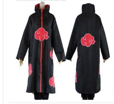 PinKart-USA Online Shopping XS Hot Sale Anime Naruto Akatsuki /Uchiha Itachi Cosplay Halloween Christmas Party Costume Cloak Cape