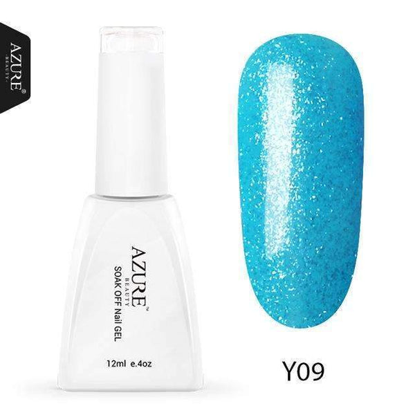 PinKart-USA Online Shopping Y09 / China 12Ml Nude Glitter Series Nail Gel Polish Shiny Color Soak Off Uv Gel Nail Gel Long-Lasting