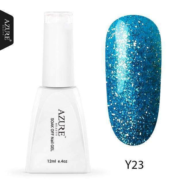 PinKart-USA Online Shopping Y23 / China 12Ml Nude Glitter Series Nail Gel Polish Shiny Color Soak Off Uv Gel Nail Gel Long-Lasting