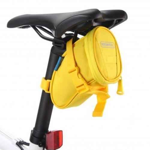 PINkart-USA Online Shopping Yellow Cycling Bike Bicycle Rear Seat Saddle 1L Tail 600D Bag Quick Release 8 Colors Available Free