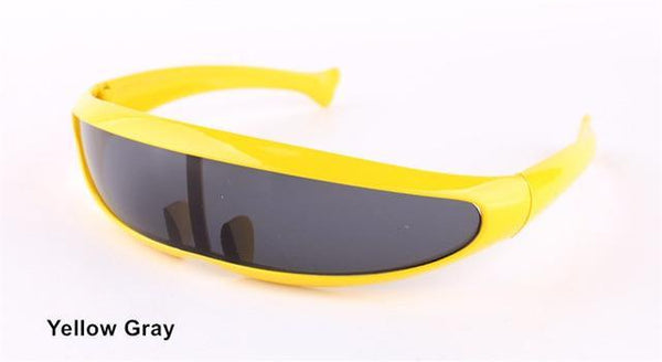 PINkart-USA Online Shopping Yellow Gray Xmen Men Women Sunglasses X-Men Personality Laser Glasses Cool Robots Sun Glasses Driving