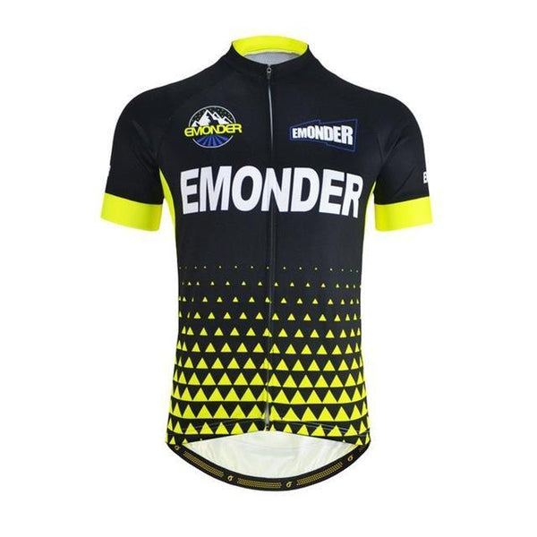 PINkart-USA Online Shopping Yellow / S Team Cycling Bike Bicycle Clothing Clothes Women Men Cycling Jersey Jacket Jersey Top Bicycle