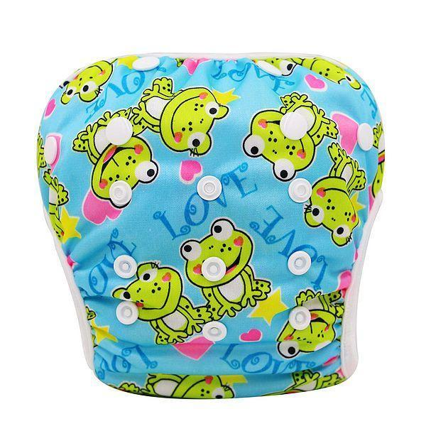 PinKart-USA Online Shopping YK14 Baby Swim Diaper Pant Washable Reusable One Size Breathable Cover Reusable Pants Infant Toddler