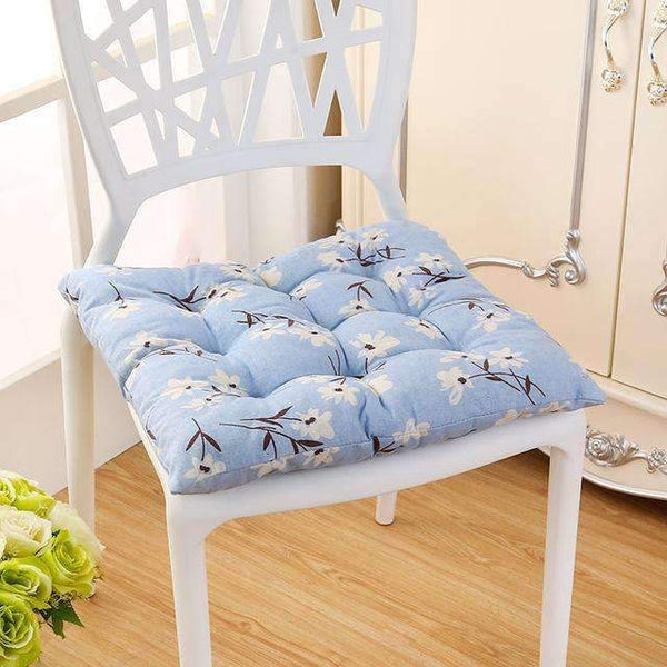 PinKart-USA Online Shopping you ya lan / 40x40cm 40*40Cm Cheap Soft Home Office Linen Outdoor Square Cotton Seat Pad Thicken Cushion Buttocks Chair