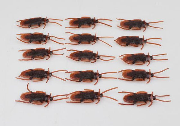PINkart-USA Online Shopping zhanglang 10Pcs Spoof Toy Novelty Funny Simulation Centipede Scorpion Fly Cockroach House Lizard Fun Toys