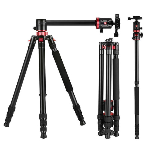 PINkart-USA Online Shopping Zomei Camera Tripod Portable Portable Professioional Aluminium Monopod 4 Sections Tripods With