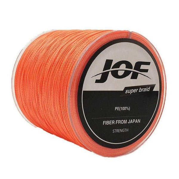 PINkart-USA Orange / 1.0 8 Strands Weaves 500M Extrem Strong Japan Multifilament Pe 8 Braided Fishing Line 15 20 30 40 50 60