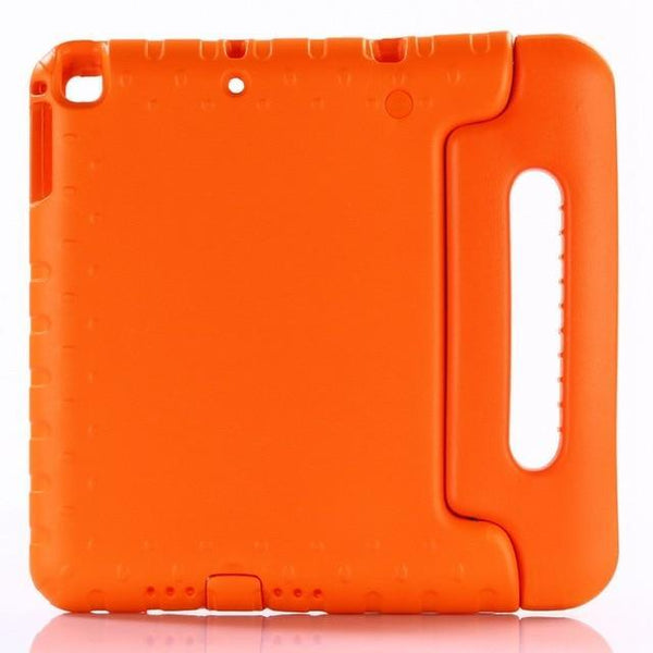 PINkart-USA Orange Case for ipad air / air 2 9.7 inch hand-held Shock Proof EVA full body cover Handle stand case for kids for iPad 2017 2018 case