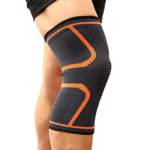 PINkart-USA Orange / M 1PCS Fitness Running Cycling Knee Support Braces Elastic Nylon Sport Compression Knee Pad Sleeve for Basketball Volleyball