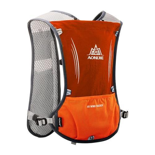 PINkart-USA Orange Women Men Lightweight Running Backpack Outdoor Sports Trail Racing Marathon Hiking Fitness Bag