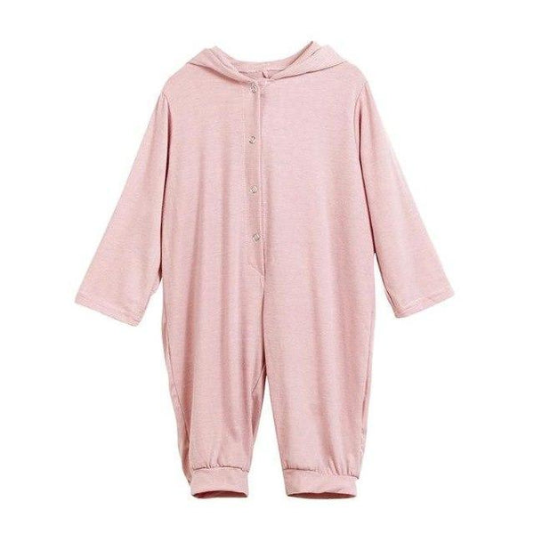 PINkart-USA Pink / 3M Born Infant Baby Boy Girl Dinosaur Hooded Romper Jumpsuit Outfits Clothes Long Sleeve Solid Baby