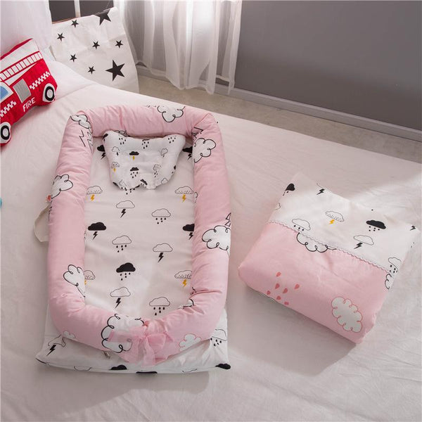 PINkart-USA Portable Baby Nursery Nest Bed Cot Born Bionic Bed Crib Cot Infant Toddler Sleeping Size Bed