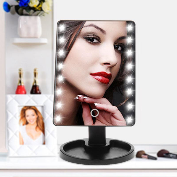 PINkart-USA Professional Led Touch Screen Makeup Mirror Luxury Mirror With 16/22 Led Lights 180 Degree