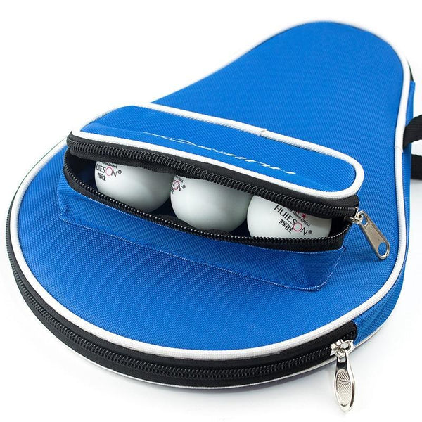 PINkart-USA Professional Oxford Table Tennis Racket Case With Outer Zipper Bag For Table Tennis Balls Key Money