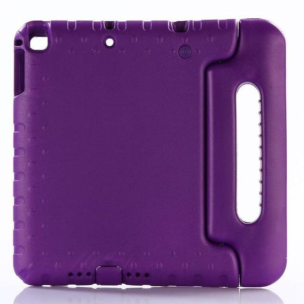 PINkart-USA Purple Case for ipad air / air 2 9.7 inch hand-held Shock Proof EVA full body cover Handle stand case for kids for iPad 2017 2018 case