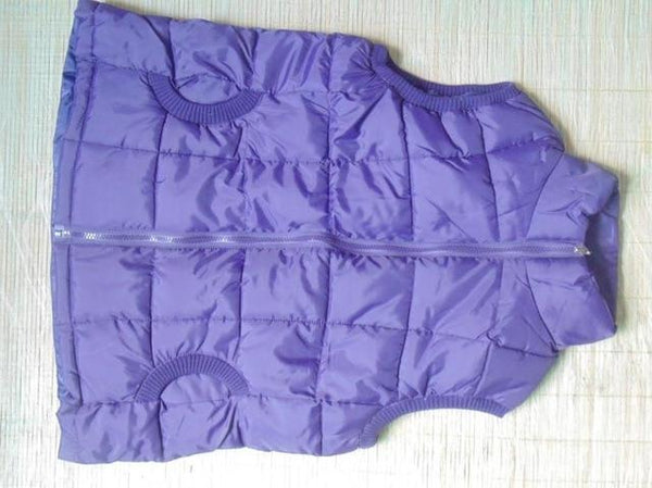 PINkart-USA purple / L Autumn Winter Women Cotton V Collar Warm Down Coat Women Warm Cotton Jacket Designer Sleeveless
