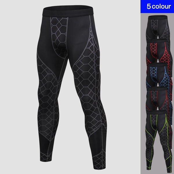 PINkart-USA Quick Dry Sports Pants Men High Elastic Jogging Pants Men Outdoor Training Tight Sports Trousers
