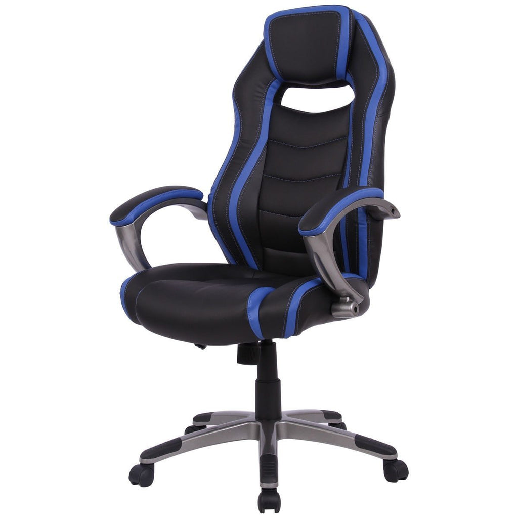 PINkart-USA Racing Car Style High Back Gaming Chair Modern Bucket Seat Computer Desk Office Chair Swivel Office