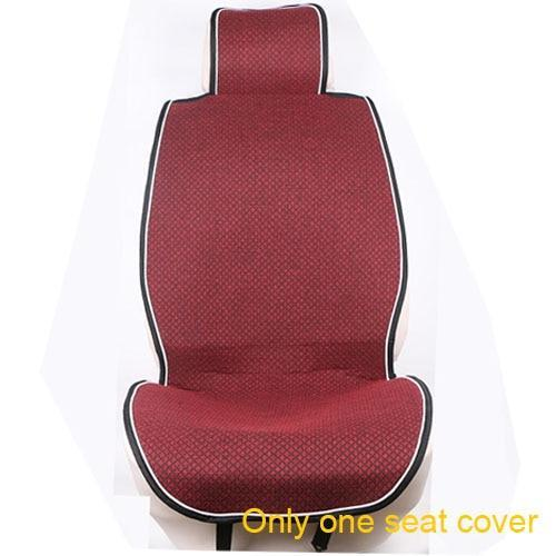 PINkart-USA Red Car Seat Cover Microfiber Auto Seat Protector Quick-Dry / O Shi Car Seat Cushion Secure Non-Slip