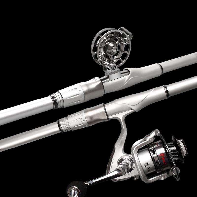PINkart-USA Rock Fishing Rod 3.6M-6.3M High Carbon Super Hard Telescopic Fishing Rod For Big Fish Baitcasting