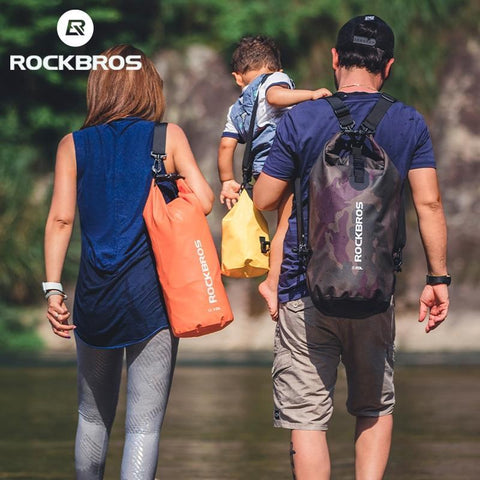 PINkart-USA ROCKBROS 2L 5L Sport Swimming Bag Waterproof  Backpack Ultralight Folding Fishing Running Outdoor Gym Sport Mini Shoulder Bgas