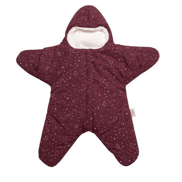 PINkart-USA Ruby / 24M Baby Sleeping Bag Star Shape Soft Warm Windproof Multi Function Outdoor Baby Wrap Flannel Inner 0-2