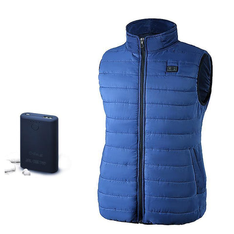 PINkart-USA S Usb Infrared Heating V Winter Outdoor Jacket Electric Thermal Waistcoat Clothing For Men Women