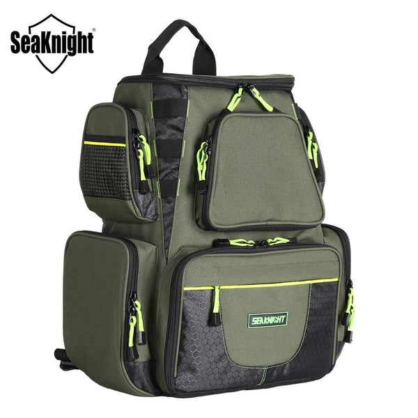 PINkart-USA Seaknight Sk004 Fishing Bag Large Capacity 25L Multifunctional Bag Backpack Outdoor Fishing