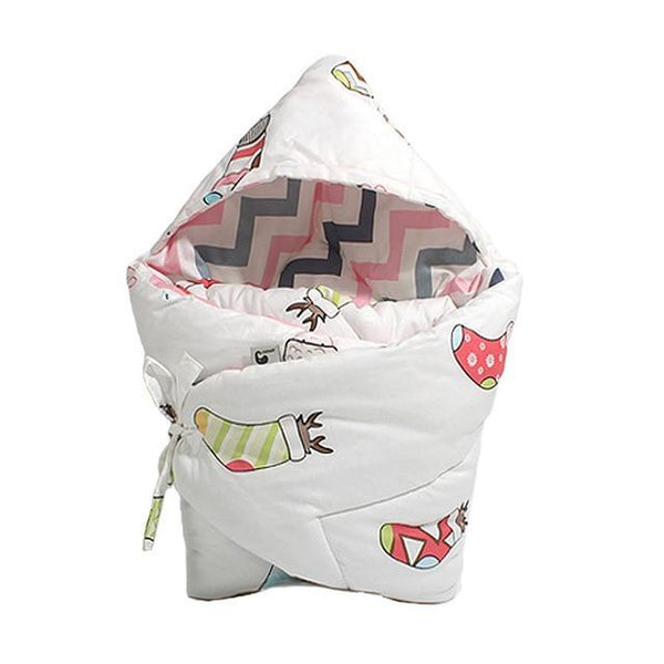 PINkart-USA shengdanwazi Anti-Dirty Cute Print Baby Sleeping Bag Envelope 1 Pcs Multi-Color Infant Born Sleepsacks 90*90Cm