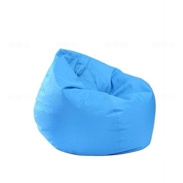 Adeeing Waterproof Stuffed Animal Storage/Toy Bean Bag Solid Color Oxford Chair Cover