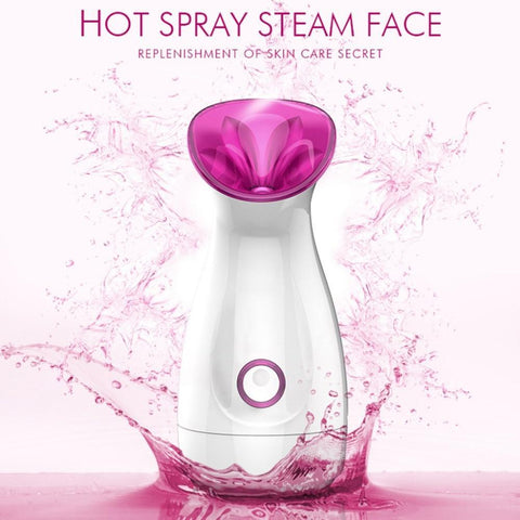 PINkart-USA Spray Steamer Face Ion Instrument Nano Ionic Skin Moisturizing For Face Beauty Salon Personal Sauna