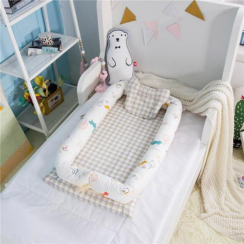 PINkart-USA Squirrel Portable Baby Nursery Nest Bed Cot Born Bionic Bed Crib Cot Infant Toddler Sleeping Size Bed
