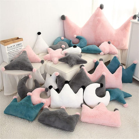 PINkart-USA Star Green Born Kawaii Toy Kids Back Cushion Baby Room Decor Pillows Crib Wall Decoration Children Products