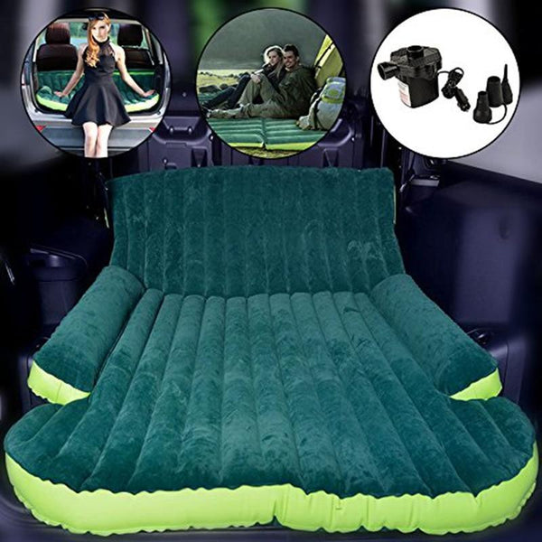 PINkart-USA Suv Automobile Traveling Camping Inflatable Air Mattress Tapete Intex Sleeping Rest Car Back Seat