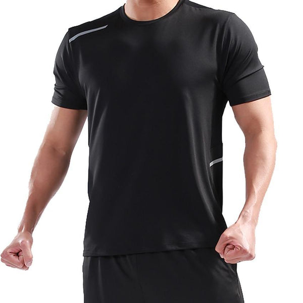 PINkart-USA T Shirt Men Tops Tees Sport Designer Running Shirt Men T-Shirt Compression Short Sleeve Gym Workout