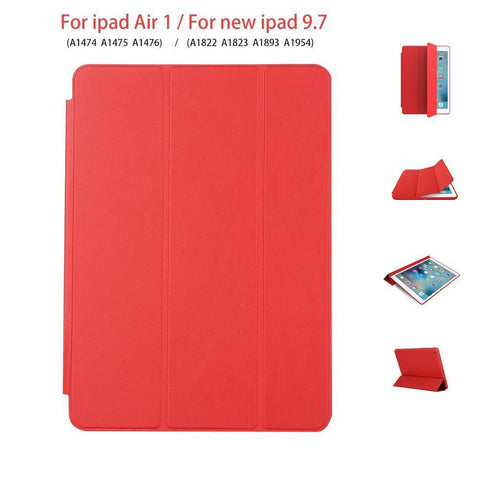 PINkart-USA Tablet case for New iPad 9.7 inch Original 1:1 PU Leather Protective Shell for iPad Apple Air 1 Auto Sleep / Wake Smart cover