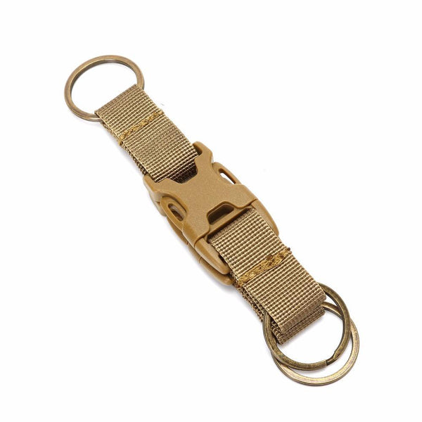 PINkart-USA Tactical Carabiner Backpack Hooks Molle Hook Survival Gear Military Nylon Keychain Clasp Outdoor
