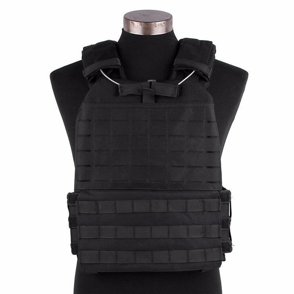 PINkart-USA Tactical Vest Military Molle System Outdoor Combat Sports Loading Adjustable Elasticity Chest Vests