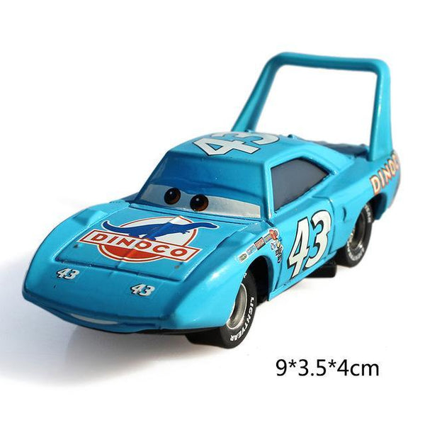 PINkart-USA The King Pixar Cars 3 Lightning Mcqueen Jackson Storm Mater Diecast Metal Birthday Christmas Toys Gift For