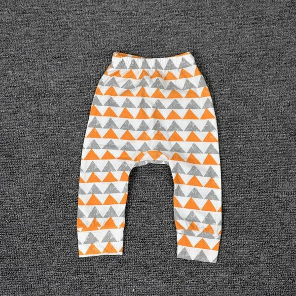 PINkart-USA triangle / 24M Baby Leggings Atutmn Cartoon Baby Leggings Pants Children Trousers Harem Pants Baby Boy Trousers