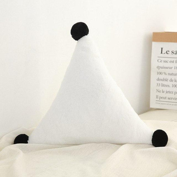 PINkart-USA Triangle White Born Kawaii Toy Kids Back Cushion Baby Room Decor Pillows Crib Wall Decoration Children Products
