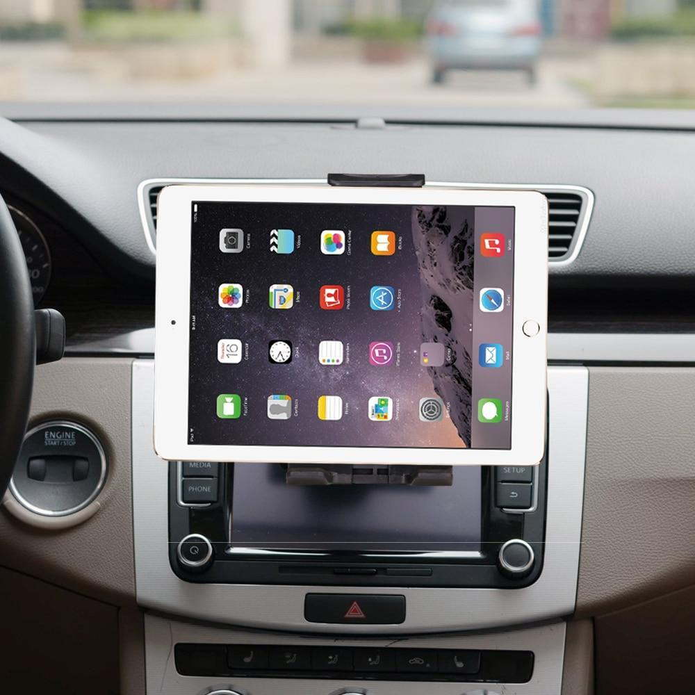 "PINkart-USA Universal 7 8 9 10"" car tablet PC holder Car Auto CD Mount Tablet PC Holder Stand for iPad 2 3 4 5 6 Air 1 2 Tablet Car holder"