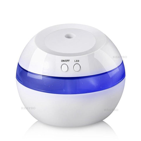 PINkart-USA Usb Ultrasonic Air Aroma Humidifier Color Led Lights Electric Aromatherapy Essential Oil Aroma