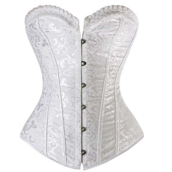 PINkart-USA Vintage Corsetttops For Women Plus Size Wedding Bridal Bustier Corset Lingerie Sexy
